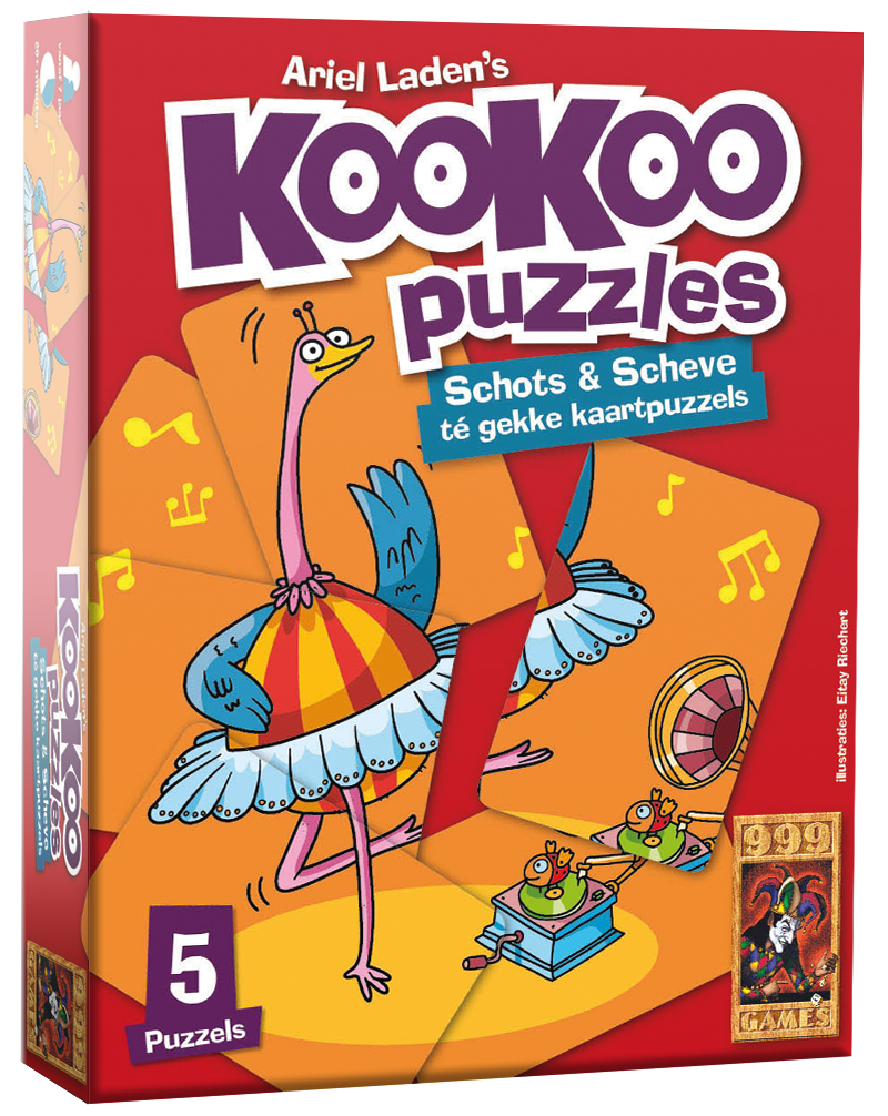 KooKoo Puzzle: Dansen - Kaartspel