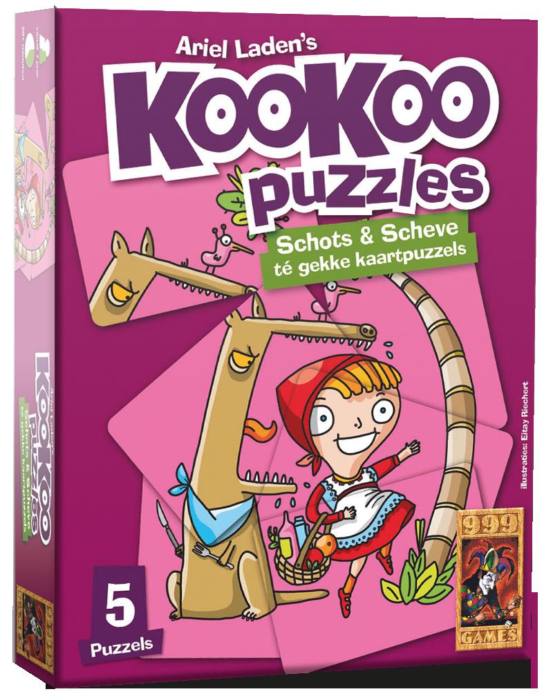 KooKoo Puzzle: Sprookjes - Kaartspel