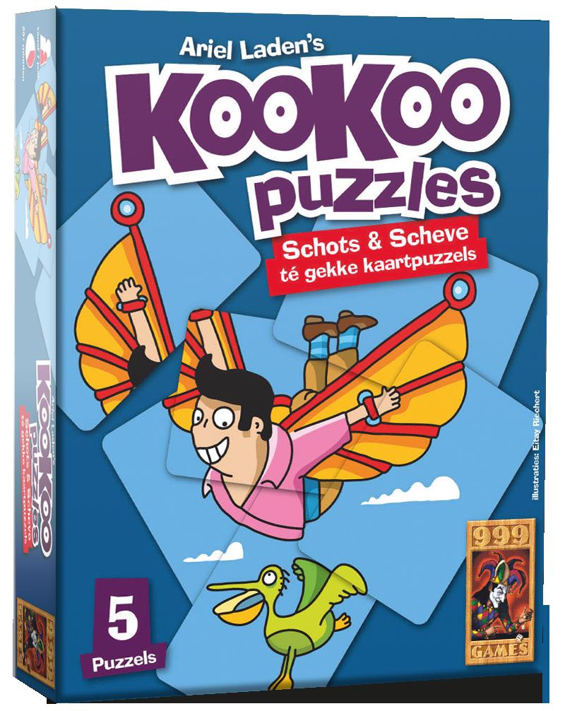KooKoo Puzzle: Vliegen - Kaartspel