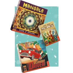 Adventpakket 12 december ( 2 spelers )