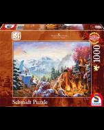 Disney Ice Age, 1000 pcs - Legpuzzel