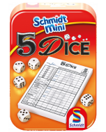5 Dice small - Dobbelspel