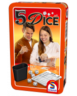 5 Dice tin groot - Dobbelspel