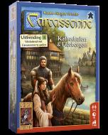 Carcassonne Uitbreiding Kathedralen & Herbergen