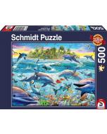Dolphin reef, 500 pcs