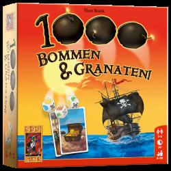 1000 Bommen & Granaten! - Dobbelspel