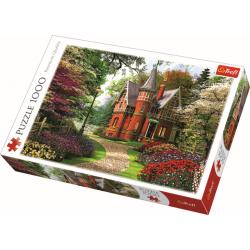 Victoriaans huisje, 1000 stukjes - Puzzel
