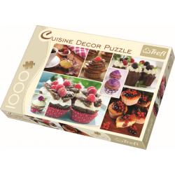 Cuisine Decor - Muffins, 1000 stukjes - Puzzel