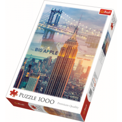 New York at dawn / Trefl - 1000 pcs - Legpuzzel