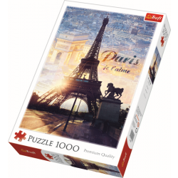 Paris at dawn / Trefl - 1000 pcs - Legpuzzel