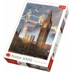 London in de ochtend, 1000 stukjes - Puzzel