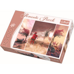 Romantic - Fairytale land  - 1000 stukjes - Legpuzzel