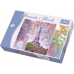 Romantic - Spring in Paris /  Trefl - 1000 pcs - Legpuzzel