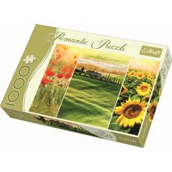 Romantic - Sunny Tuscany / Trefl - 1000 pcs - Legpuzzel