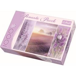 Romantic - Lavender fields /  Trefl - 1000 pcs - Legpuzzel