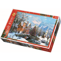 Winter landschap, 1000 stukjes - Legpuzzel
