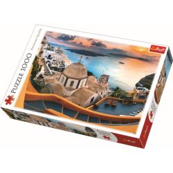 Sprookjesachtig Santorini, 1000 stukjes - Legpuzzel