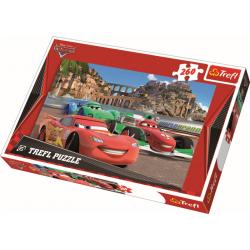 Cars 2 in Porto Corso, 260 stukjes - Legpuzzel