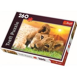 Leeuwenwelp, 260 stukjes - Puzzel