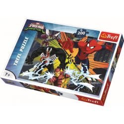 The Clash / Spider-Man, 200 stukjes - Puzzel