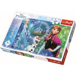 Power of Sisters /  Frozen, 200 stukjes - Puzzel