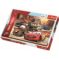 Expeditie naar de bergen / Cars, 200 stukjes - Puzzel