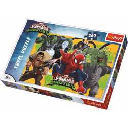 Spider-Man in actie, 260 stukjes - Puzzel