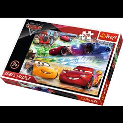 Disney Cars 3, 200 stukjes - Puzzel