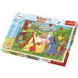 Maxipuzzel  / Winnie The Pooh, 24 stukjes - Legpuzzel