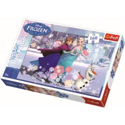 Schaatsen /  Frozen, 160 stukjes - Puzzel
