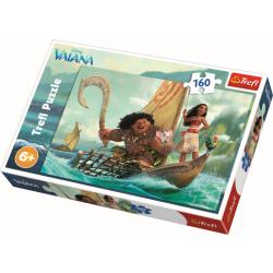 Op de golven / Vaiana, 160 stukjes - Puzzel