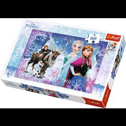Winter avontuur /  Frozen, 160 stukjes - Puzzel