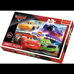 Disney Cars 3, 160 stukjes - Puzzel