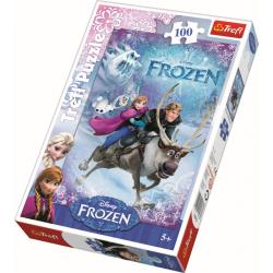 Frozen, 100 stukjes - Puzzel
