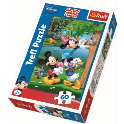 Mickey en zijn vrienden - 60 stukjes - Legpuzzel