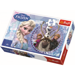 Frozen, 60 stukjes - Legpuzzel