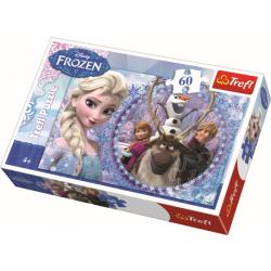 Frozen, 60 stukjes - Puzzel