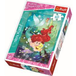 Ariel de Kleine Zeemeermin - 60 stukjes - Legpuzzel