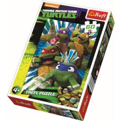 Teenage Mutant Ninja Turtles - 60 stukjes - Legpuzzel