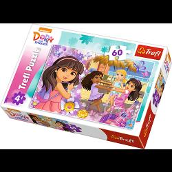 Dora and Friends, 60 stukjes - Puzzel