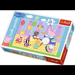 Peppa Pig, 60 stukjes - Puzzel