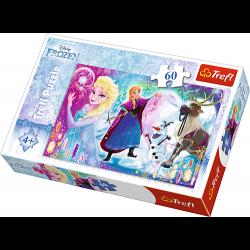 Puzzel Disney Frozen, 60 stukjes - Puzzel