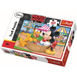 30 pcs - The Washbowl / Disney Mickey Mouse - Legpuzzel
