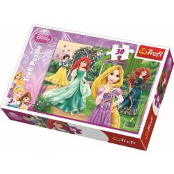 Disney Prinsessen - 30 stukjes - Legpuzzel