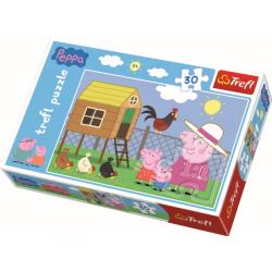 Peppa Pig, 30 stukjes - Legpuzzel