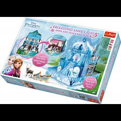 Arts & Crafts Frozen Anna en Elsa's Koninkrijk - Hobbypakket
