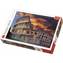 The Collosseum in Rome / Trefl - 1500 pcs - Legpuzzel