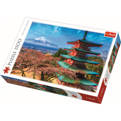 Mount Fuji Japan / Trefl - 1500 pcs - Legpuzzel
