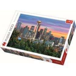 Space Needle, Seattle, USA , 1500 stukjes - Puzzel