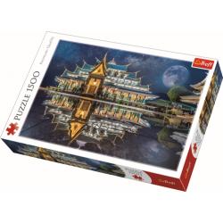 Wat Pa Phu Kon, Thailand, 1500 stukjes - Puzzel